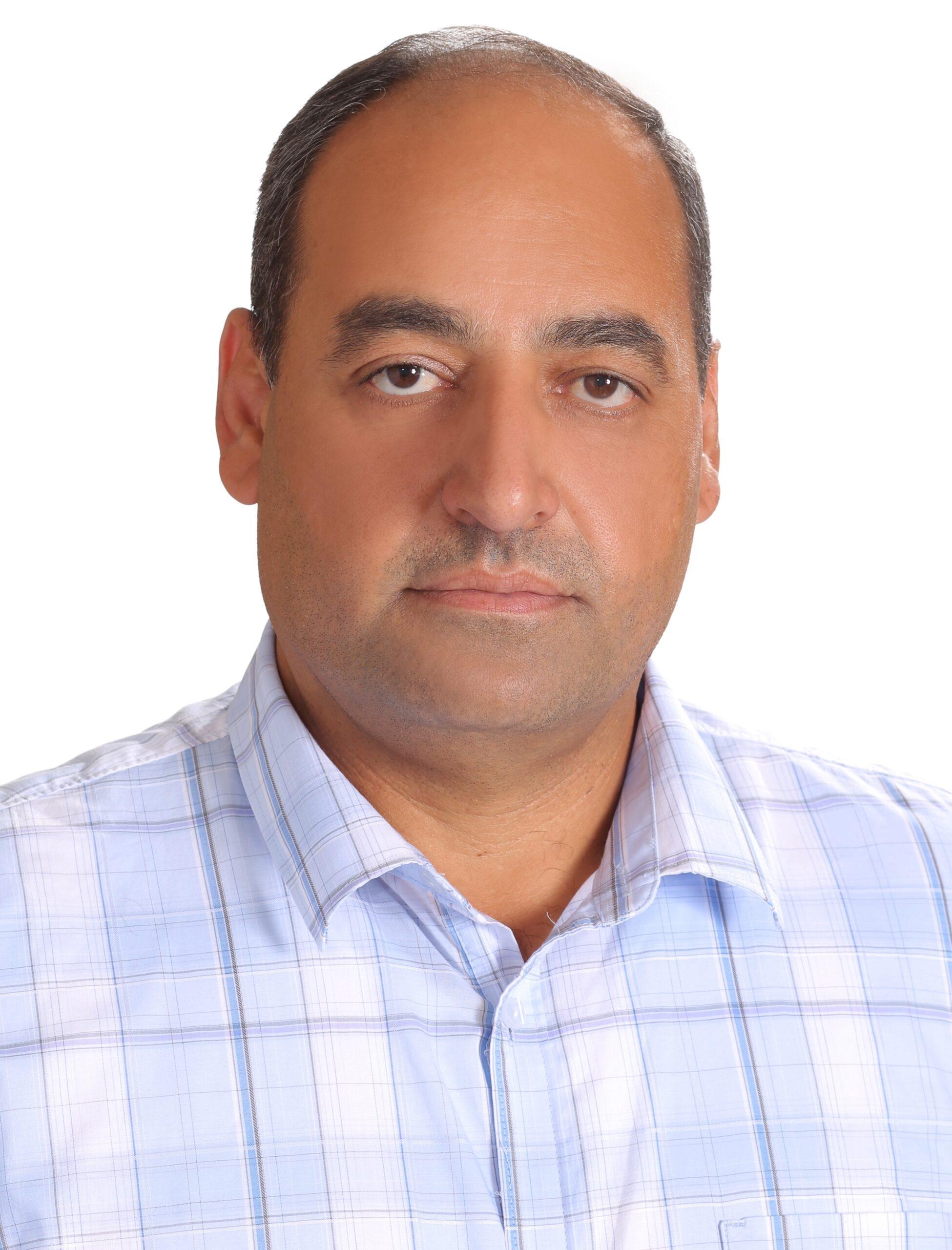 Headshot of Khalid Abdel Hafeez.