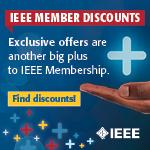 IEEE Member Discounts ad.